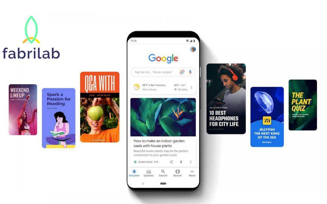 Pourquoi mettre en place une stratégie de contenu avec les Web Stories de Google ?
