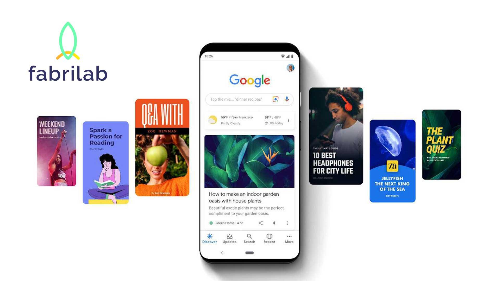 Stratégie de Contenu avec Web Stories de Google | Fabrilab : Acteurs de la transition numérique