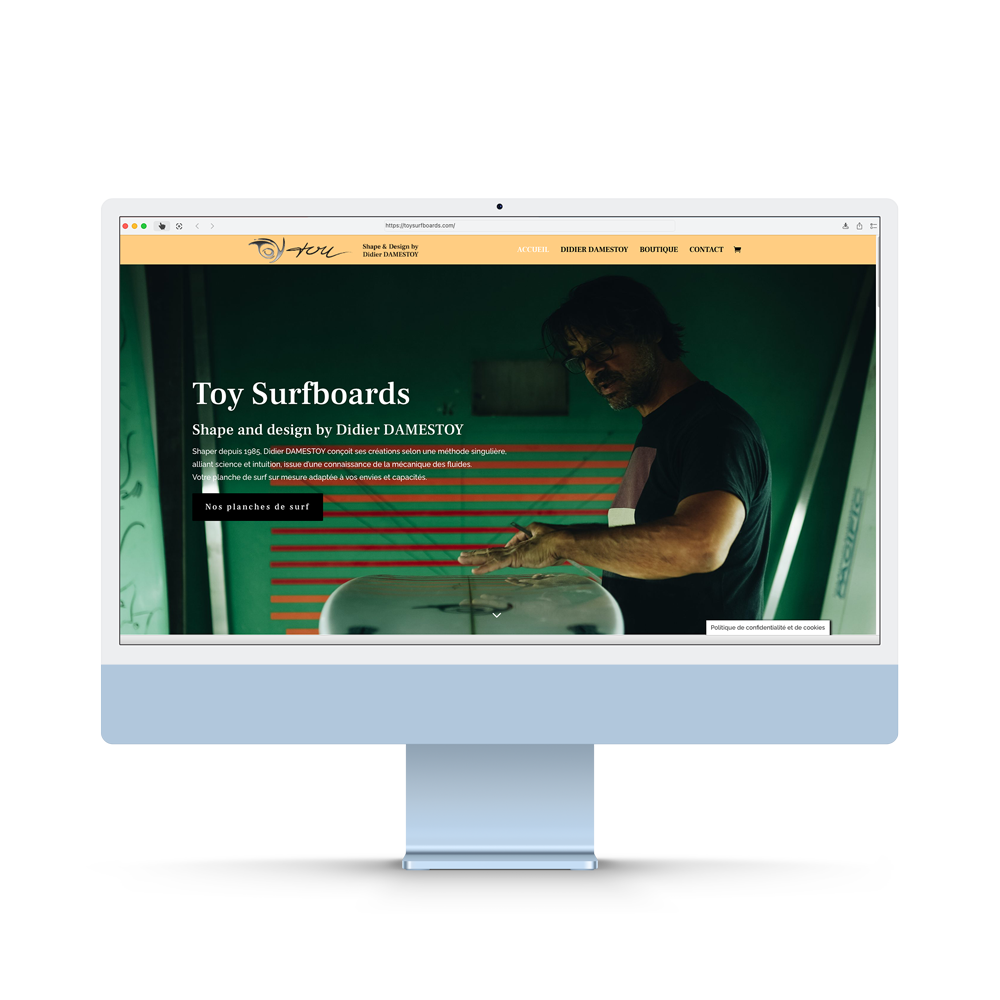 Toy Surfboards-Ecommerce